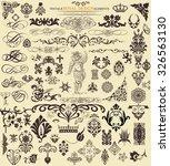 design elements | Shutterstock .eps vector #326563130