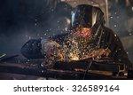 welding work. | Shutterstock . vector #326589164