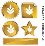 plant gold | Shutterstock .eps vector #32659861