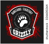 Grizzly Bear   Military Label ...