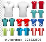 collection of various soccer... | Shutterstock .eps vector #326623508