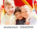 summer  childhood  leisure ... | Shutterstock . vector #326632940