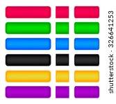 buttons | Shutterstock .eps vector #326641253