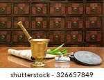 traditional chinese medicine... | Shutterstock . vector #326657849