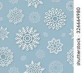 abstract vector christmas... | Shutterstock .eps vector #326664980