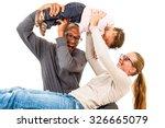 Interracial Family Is Having...