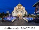 Saint Sava Temple  Belgrade...