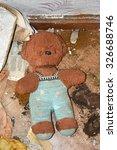 Vintage  Old Toy  Teddy Bear In ...