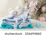 baby clothes for newborn. in... | Shutterstock . vector #326694860