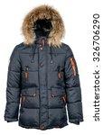 male winter jacket | Shutterstock . vector #326706290