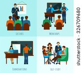 university people design... | Shutterstock .eps vector #326709680