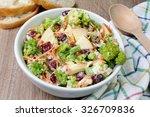 salad of broccoli  carrots ... | Shutterstock . vector #326709836