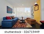 interior design  modern living... | Shutterstock . vector #326715449