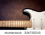 Electric Guitar Body And Neck...