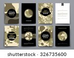 set of brochure  poster... | Shutterstock .eps vector #326735600