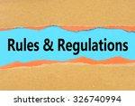 torn brown and orange paper on... | Shutterstock . vector #326740994