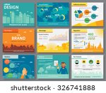 urban design of infographics... | Shutterstock .eps vector #326741888