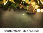 christmas background | Shutterstock . vector #326761850