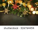 christmas background | Shutterstock . vector #326764454