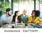diversity friends team... | Shutterstock . vector #326772659