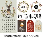 Christmas Elements  Tags ...