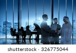 business people meeting... | Shutterstock . vector #326775044