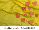 decorative stylized hearts with ... | Shutterstock . vector #326782460