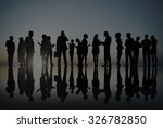 corporate business people... | Shutterstock . vector #326782850