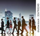business people corporate... | Shutterstock . vector #326783240