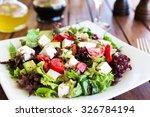 Greek Mediterranean Salad With...