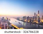 skyscrapers of the city in... | Shutterstock . vector #326786228