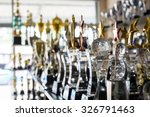 trophy awards for champion... | Shutterstock . vector #326791463