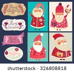 holiday vector collection with... | Shutterstock .eps vector #326808818