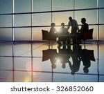 group of business people... | Shutterstock . vector #326852060