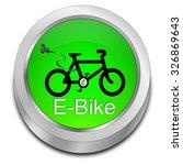 e bike button | Shutterstock . vector #326869643