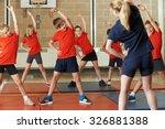Teacher Taking Exercise Class...