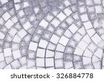 backgrouds texture brick circle  | Shutterstock . vector #326884778