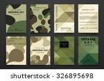 set of brochure  poster... | Shutterstock .eps vector #326895698