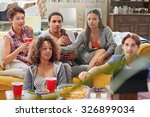 multi ethnic group of  student... | Shutterstock . vector #326899034