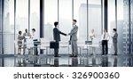 business people board room... | Shutterstock . vector #326900360