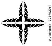 tattoo tribal vector design... | Shutterstock .eps vector #326902064