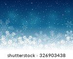 christmas snowflakes background ...