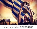 portrait of successful rugby... | Shutterstock . vector #326903900