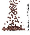 heap of basketball balls... | Shutterstock . vector #326904698