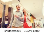 sale  consumerism and people... | Shutterstock . vector #326911280