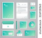 corporate identity medical... | Shutterstock .eps vector #326928563