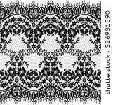 seamless lace pattern  flower... | Shutterstock .eps vector #326931590