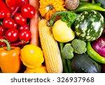 fresh vegetables as background   Shutterstock . vector #326937968
