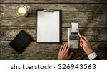 business accountant or... | Shutterstock . vector #326943563