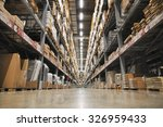 large scale warehouse of japan | Shutterstock . vector #326959433